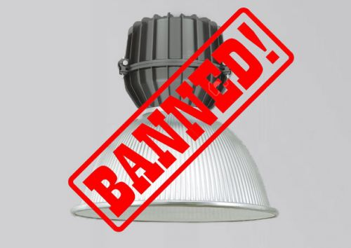 Halogen lamps banned from September 2018